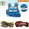 Vertical Double Colors Plastic outsole injection Machine offer Tools