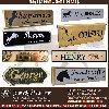 Equestrian name plates offer Other